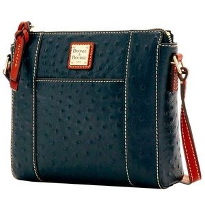 AUTHENTIC Dooney & Bourke Ostrich Crossbody
